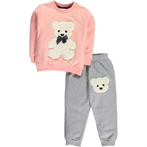 Civil Girls Powder Pink Track Suit Girl Child 2-5 Years