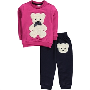 Civil Girls Fuchsia Sweat Suit Boy Girl 2-5 Years