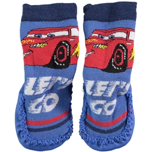 Cars Boy Blue Socks Sandals 18-24 Number Saks