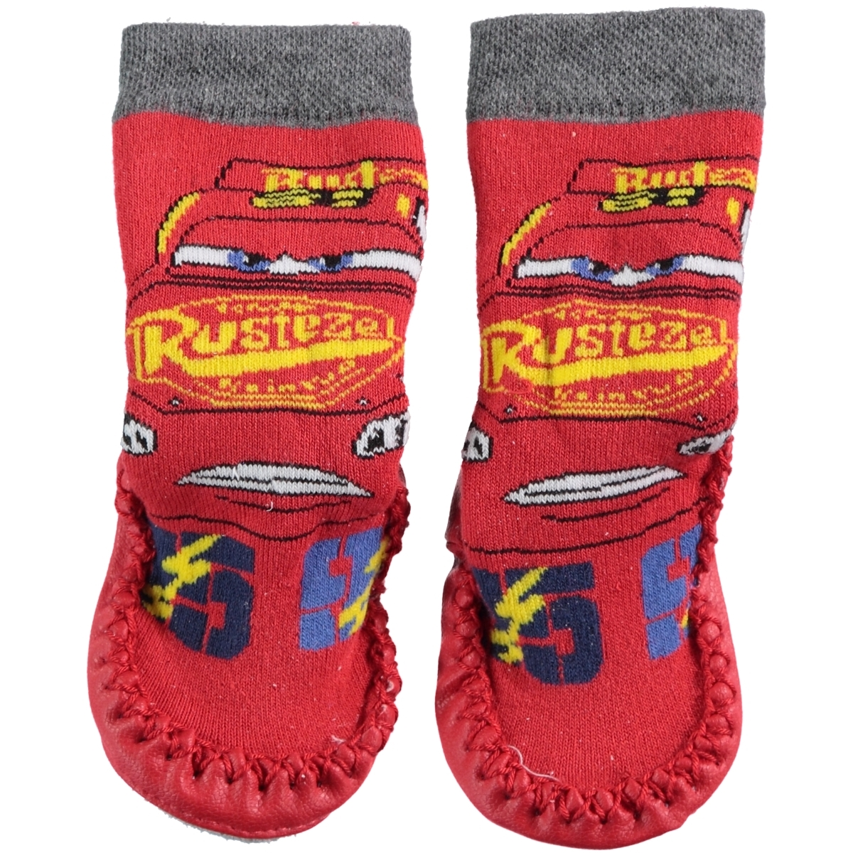 Cars Sandals Number Red Boy Socks 18-24