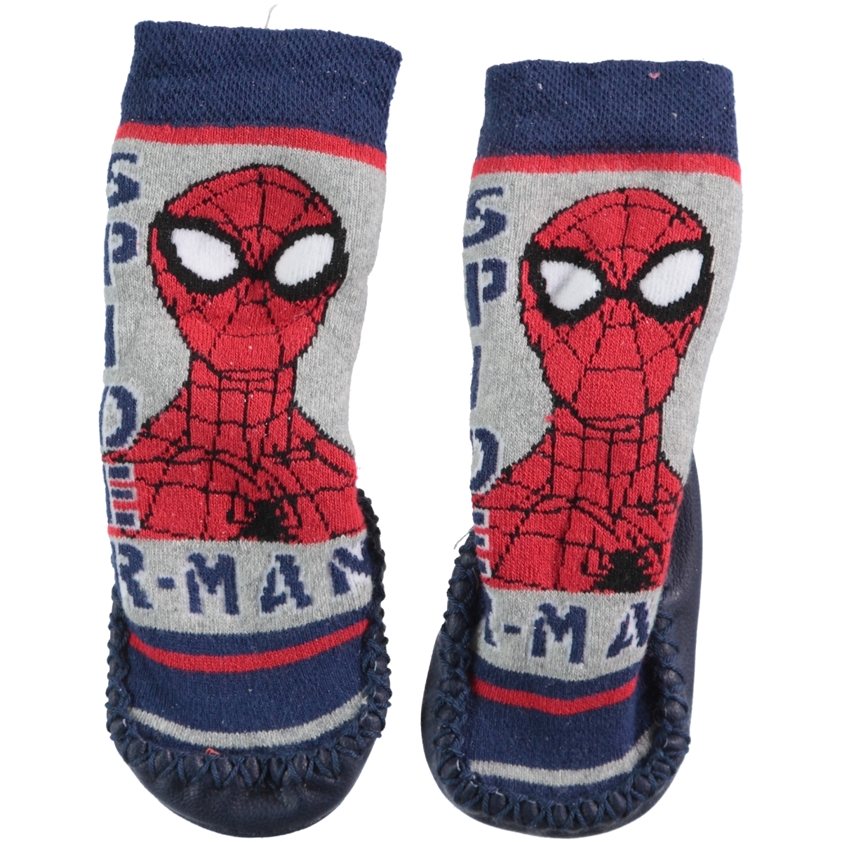 Spiderman Boy Navy Blue Socks Sandals 18-24 Number