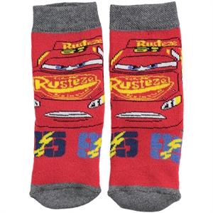 Cars Erkek Çocuk Çorap 3-9 Yaş Kırmızı