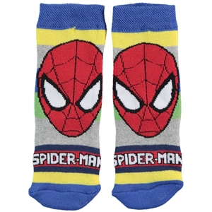 Spiderman Boy Socks Ages 3-7 Blue