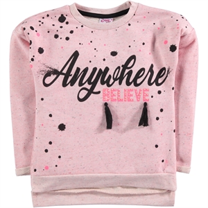 Civil Girls Age 6-9 Girl Kids Sweatshirt Powder Pink