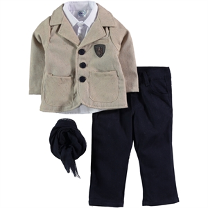 Civil Baby 9-18 Months Baby Boy Brown Suit