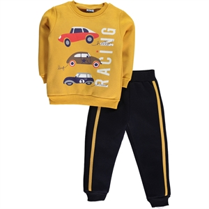 Civil Boys Mustard Sweat Suit Boy Age 2-5