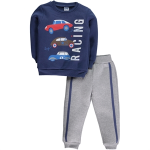 Civil Boys Indigo Boy Sweat Suit 2-5 Years