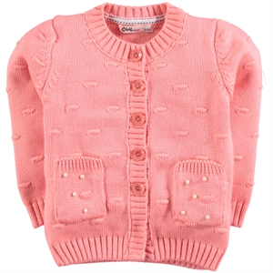 Civil Girls Light Tan Cardigan 2-5 Years Girl