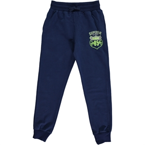 Cvl Navy Blue Sweatpants Boy Age 10-13
