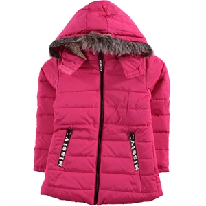 Civil Girls Fuchsia Girls Coat Age 2-5