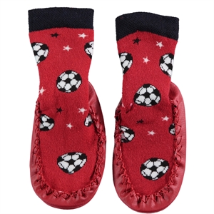 Civil Baby The Number Of 20-24 Red Sandals Boy Socks (1)