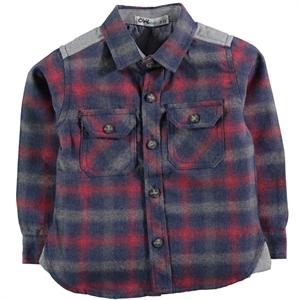 Civil Boys Red Shirt Boy Age 6-9