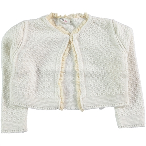 Civil Girls Ecru Bolero Girls Age 6-9