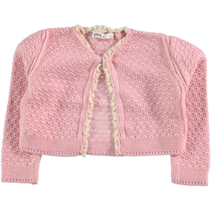 Civil Girls 2-5 Years Girls Pink Bolero (1)