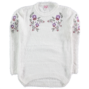 Civil Girls Ecru Sweater Girl Age 10-13