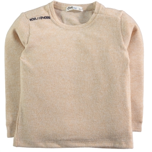 Civil Boys Beige Sweatshirt Boy Age 2-5