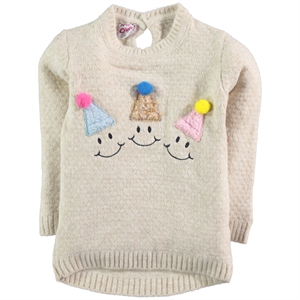 Civil Girls Girl With Beige Sweater 2-5 Years