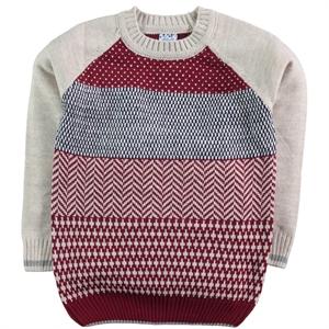 Civil Boys Burgundy Sweater Boy Age 6-9