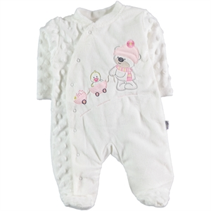 Albimini Oh Baby, Booty Baby's Jumpsuit In Pink, 3-9 Months