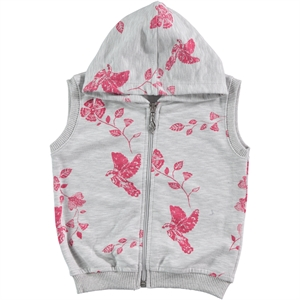 Civil Girls Child Age 6-9 Girl Vest Fuchsia