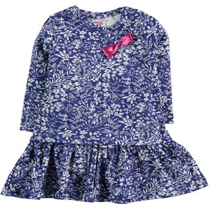 Civil Girls Girl Dress Navy Blue Age 2-5