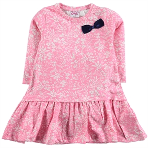 Civil Girls Powder Pink Girl Dress For 2-5 Age