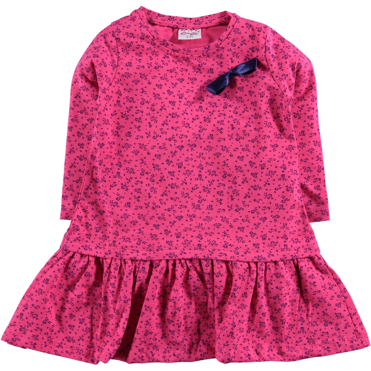 Civil Girls Fuchsia Girls Dress 2-5 Years