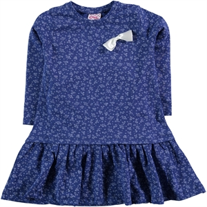 Civil Girls Girl Dress Navy Blue Age 2-5 (1)