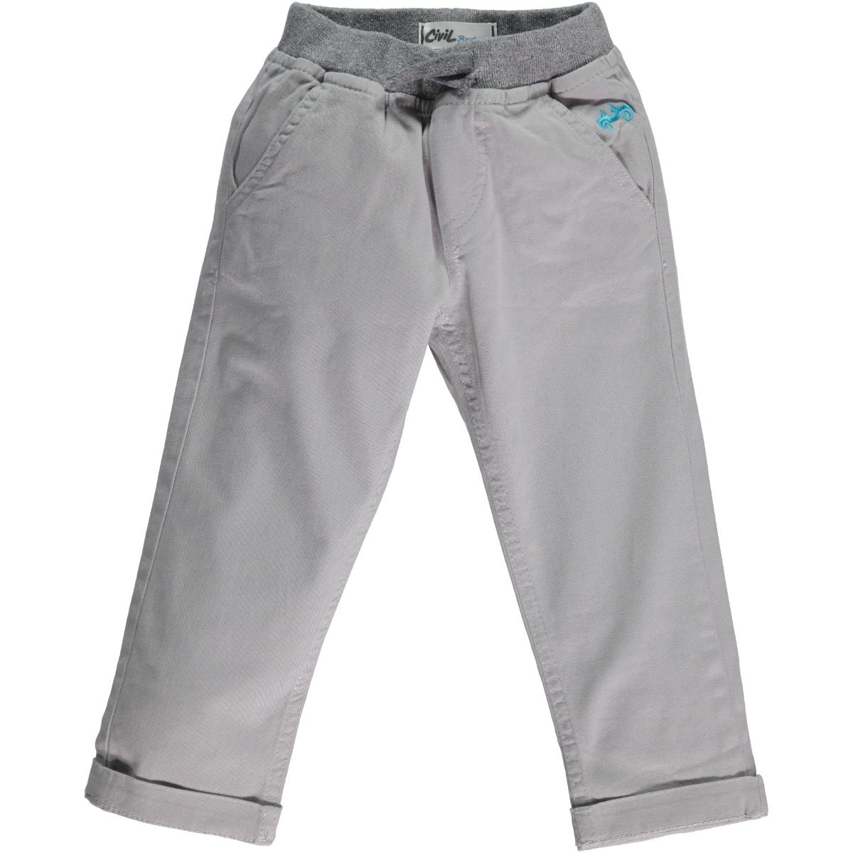 Civil Boys Boys Age 6-9 Boy Gray Pants Civil