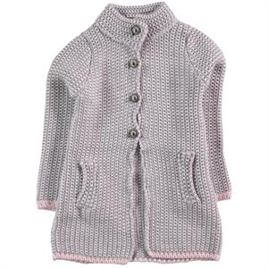 Civil Girls Girl Pink Tunic Cardigan Age 6-9