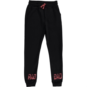 Cvl Black Sweatpants Boy Age 10-13