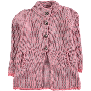 Civil Girls Salmon Tunic Cardigan Age 6-9 Girl