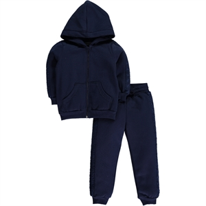 Cvl Girl Child Navy Blue Track Suit 2-5 Years