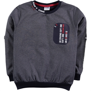 Civil Boys Navy Blue Sweatshirt Boy Age 6-9