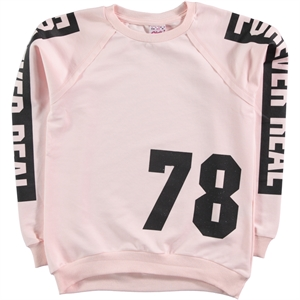Civil Girls Powder Pink Sweatshirt Kids Girl Age 10-13