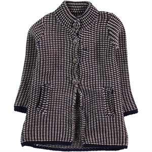 Civil Girls Navy Blue Girl Tunic Cardigan Age 6-9
