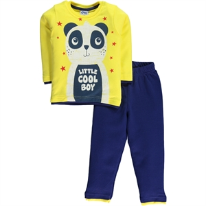 Civil Boys Pajama Boy Outfit Yellow 2-5 Years