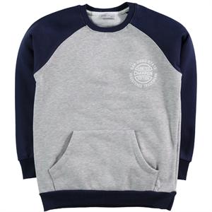 Cvl Navy Blue Sweatshirt Boy Age 6-9