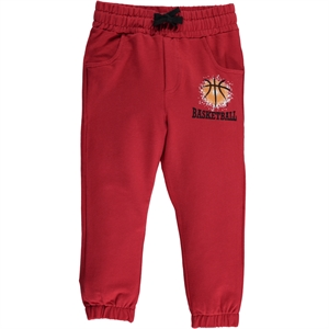 Cvl 2-5 Years Boy Sweatpants Burgundy
