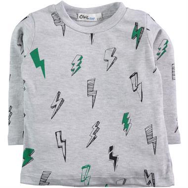 Civil Boys Yesil 2-5 Years Boy Sweatshirt