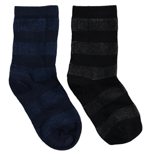 Step Boy 2-gang Socket Socks Black 5-11 Age