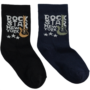 Step Boy 2-age 5-11 black sock gang socket