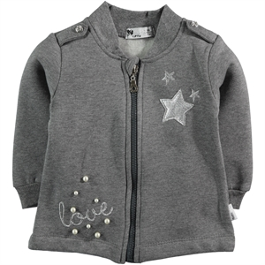 Miss Tuffy Age 1-4 Girl Cardigan Gray (1)