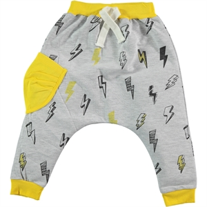 Civil Boys Yellow Sweatpants Boy 2-5 Years