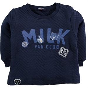 Miss Tuffy 6-18 Months Baby Boy Navy Blue Sweatshirt
