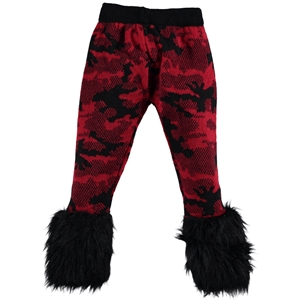 Civil Girls Red Tights Girl Age 6-9