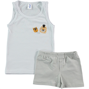 Civil The Team Is 2-10 Age Boy Underwear Beige