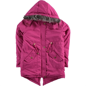 Civil Girls Age 10-13 Girls Fuchsia Coat