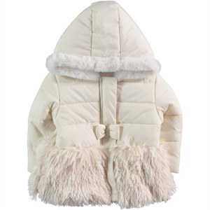 Civil Girls Beige Coat For Girls Age 2-5