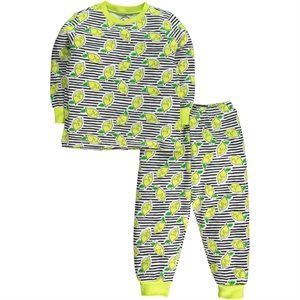 Cvl Girl In A Pajama Outfit Yellow 2-5 Years